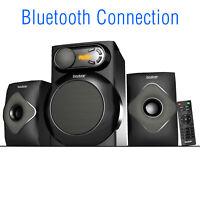 Boytone BT-220FN, Bluetooth Connection, 2.1 Multimedia speaker system, 40 Watt