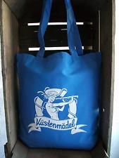 Küstenmädel Ahoi Beutel Matrose blau Einkaufstasche Seemannsbraut