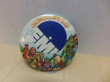 EMI Children's Tape Club 1970s laminated tin Badge