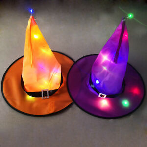 Halloween Witch Hat String Lights Halloween Party Décor for Outdoor Yard Indoor