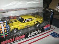 1:18 HIGHWAY 61 1969 CAMARO YENKO ED HEDRICK YELLOW DRAG CAR SUPERCAR  #50698