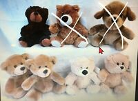 """My Town Originals 6"""" Plush Stuffed Animals Lot of 1 Each Choose from List"""