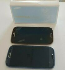 LCD ORIGINALE Samsung Galaxy S3 i9300 Digitalizzatore Touch Screen Display con frame