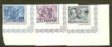 Poland  Sc. C26A-C cat. $75,  MNH corner copies