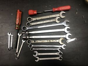 Used Lot of MAC Tools, Wrenches, Torx, Flare