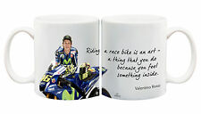 Juko Valentino Rossi Quote 1275 Motorbike Racing Coffee Tea Cup