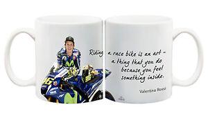 Juko Valentino Rossi Quote 1275 Motorbike Racing Coffee Tea Cup