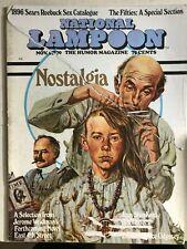 NATIONAL LAMPOON Magazine November 1970
