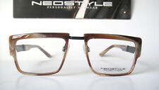 Neostyle 54-21 140 Large Medium Horn Imitation Avant Garde Eyeglasses Mens Elvis