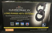 Antennas Direct Clearstream 2V Long Range HDTV Antenna w/ Mount 4K Ready C2V-J3