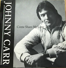 "JOHNNY CARR-Come Share My Love-7"" Vinyl Record Single 45rpm-DPR 3-1980"