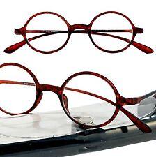 +5.00 2 PAIRS!! Tortoise ROUND FLEXIE  TR 90 Calabria  Reading Glasses Case