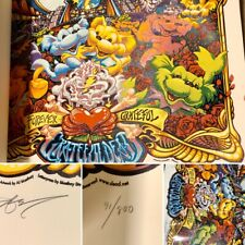 GRATEFUL DEAD- LTD. ED. NUMBERED SOLD OUT PRINT (by: AJ MASTHAY) Available here