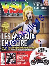 VSD n°1909 du 27/03/2014 animaux Roadster Moto Damien Echols