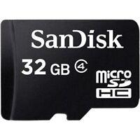 SanDisk 32GB Micro SD HC MicroSDHC TF Flash Memory Card 32 GB GIG