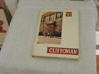1957 Sea Cliff High School Yearbook Long Island NY Cliffonian