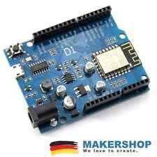 Wemos D1 Wifi Arduino UNO komp. Board mit WLAN ESP8266 ESP-12E Mini Wifi on B...