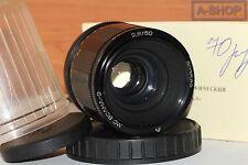 VOLNA-9 MC 2.8/50mm M42 MACRO lens for Canon, Nikon, Sony etc. #903589 GOOD+++