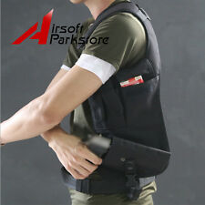 Airsoft Armpit Pistol Holster Pouch Hidden Underarm Shoulder Bag for Right Hand