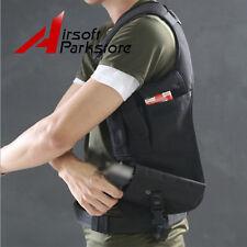Airsoft Armpit Pistol Holster Pouch Hidden Underarm Shoulder Bag for Right Hand