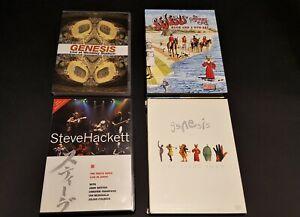 GENESIS DVD (varie pubblicazioni)