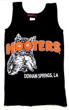 DENHAM SPRINGS, LA HOOTERS GIRLS XX-SMALL XXS LYCRA BLACK UNIFORM TANK TOP