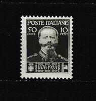 S35594 Italy 1929 MNH New 50 Death Vittorio E.II 1v Saxon 239