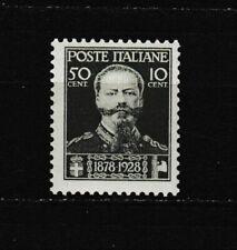 s35594 ITALIA 1929 MNH** Nuovi** 50 Morte Vittorio E. II 1v Sassone 239