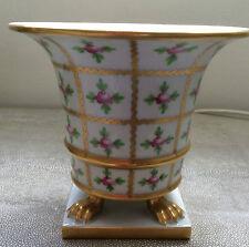 Herend Vaso Fioriera Vaso Porcellana Dipinti a Mano Piede Artiglio