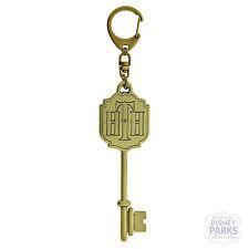 Disney Parks Hollywood Hotel Room Key Tower Of Terror Keychain