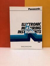 Panasonic Electronic Measuring Instruments 1987