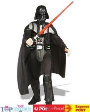 Star Wars Darth Vader Deluxe Licensed Mens Fancy Dress Adult Costume + HELM