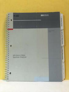 HP E4441-90022 ESA-L1500A Spectrum Analyzer Measurement Guide