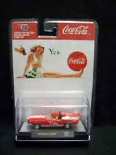 M2 Machines Coca Cola 1968 Shelby GT 500KR Mustang Convertible Limited Edition.