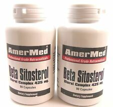 2X Beta Sitosterol 425 mg Prostate BPH Frequent Painful Urination Cholesterol