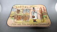 "ROYAL DOULTON SERIESWARE ""GAFFERS"" RECTANGULAR TRAY / DISH"