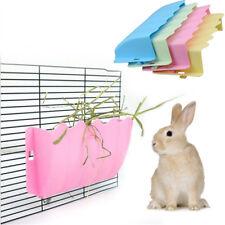 Plastic Small Pet Rabbit Hay Rack Feeder Grass Manger Guinea Pig Nesting Holder