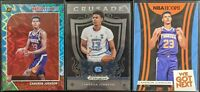 Lot of (3) Cameron Johnson, Including Hoops Teal Explosion, Hoops insert & more