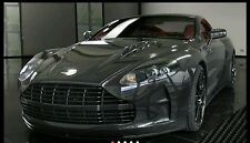 Car Premium 5D  High Gloss Black Carbon Fiber Vinyl Wrap Bubble Free 60 × 120