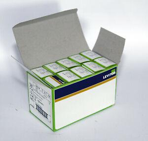Box of 10 Leviton 5462-W Duplex industrial grade receptacles 20A-250V White