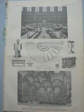 1883 18 Lesesaal Museum  London Bibliothek Paris