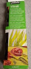 Pebeo Vitrail Discovery Set  6x20 ml  Transparent Paint Colors NEW