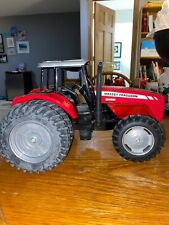 Massey Ferguson Model 8480 Dyna-Step Toy Tractor Red No Box Diecast 11x8.5x8