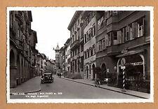 Bozen Südtirol schöne Straßen Ansicht mit Cafe 20er Jahre
