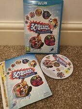 Family Party: 30 Great Games Obstacle Arcade - Nintendo Wii U VGC *Fast Postage*