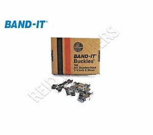 Band-It 201 Stainless Steel Ear Lokt Buckles