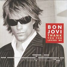 Bon Jovi - Thank You For Loving Me - 4 Titel Maxi Single CD aus dem Jahr 2000