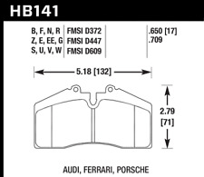 Hawk Disc Brake Pad Rear for Ferrari 456 GT, Porsche 911, 928, 944 / HB141S.650