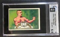 1951 Topps Ringside Boxing #69 John L Sullivan HOF GIA 6.5 EX-MT+