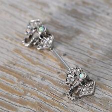 Australian Elephant Lady Nipple Ring Stainless Steel Piercing Body Jewelry FK